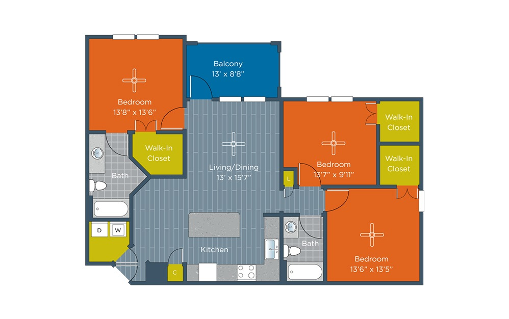 Zenith Available One Amp Two Bedroom Apartments In